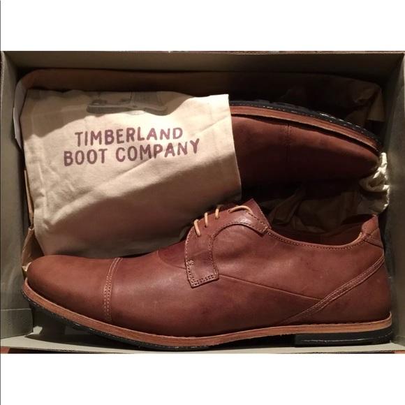 MEN'S TIMBERLAND BOOT COMPANY® WODEHOUSE CAP Toe NWT